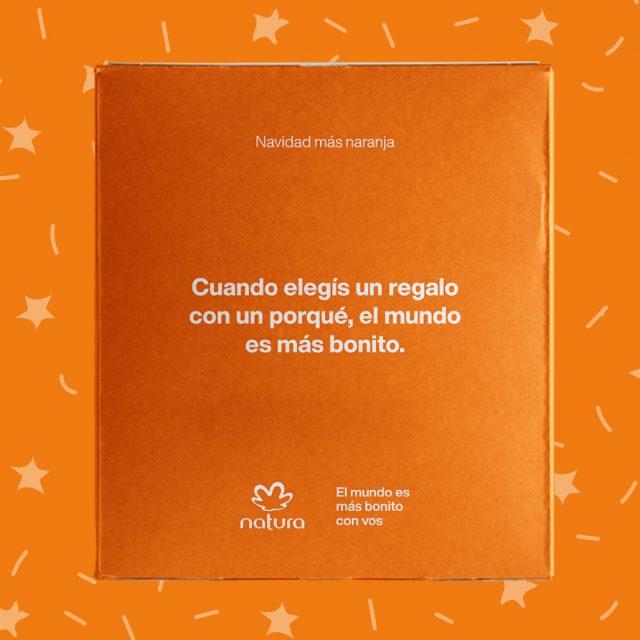 Caja Natura - Dice: Cuando elegís un regalo con un porqué el mundo es más bonito