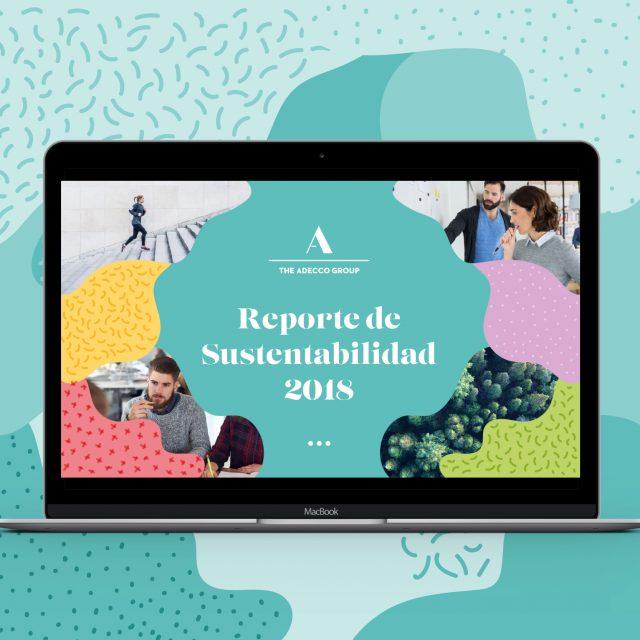 Reporte de sustentabilidad Adecco 2018